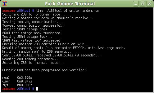 Z80 EEPROM Programmer